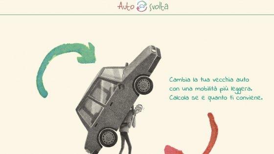 """Autosvolta, la App per """"svoltare"""" verso la mobilità sostenibile"""