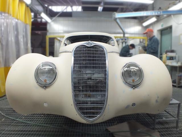Apre a Padova la scuola di restauro di auto d'epoca