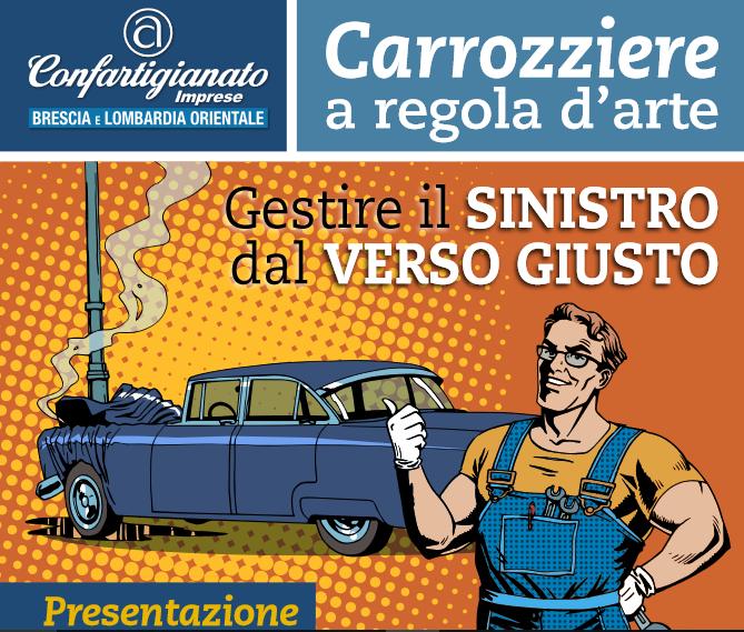 """Confartigianato Brescia lancia il corso """"Carrozziere a regola d'arte"""""""