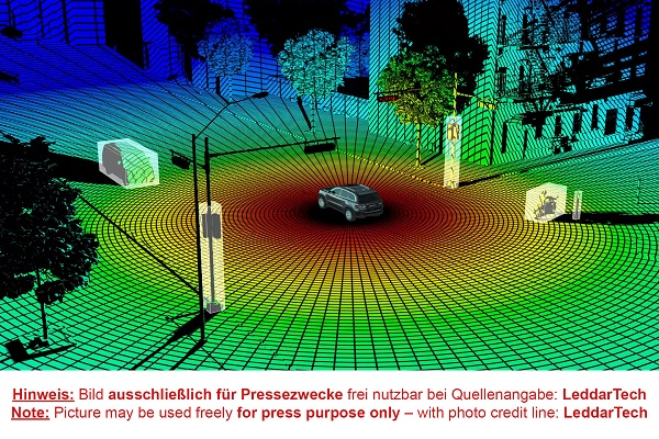 OSRAM punta sui LiDAR e acquisisce una quota di Leddar Tech