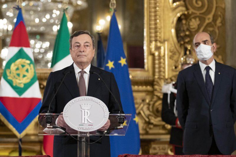 Ecco l'elenco dei Ministri del Governo Draghi