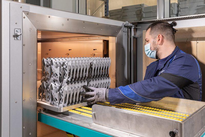 BMW stampa parti di carrozzeria in 3D