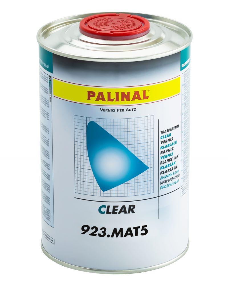 Palinal 923.MAT5 trasparente per finiture opache da 2 a 75 gloss