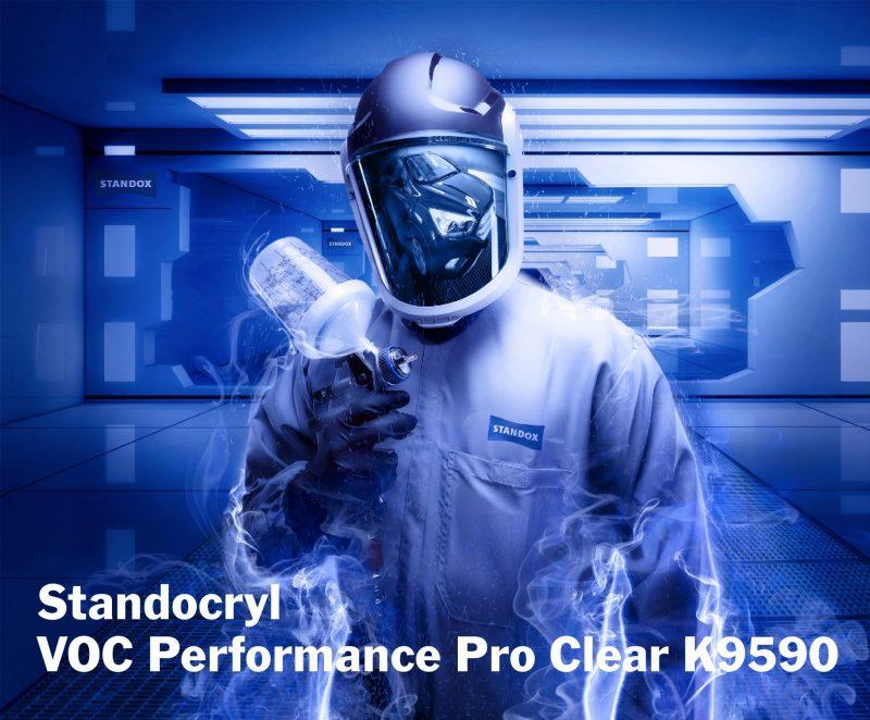 Trasparente Standocryl VOC Performance Pro Clear K9590