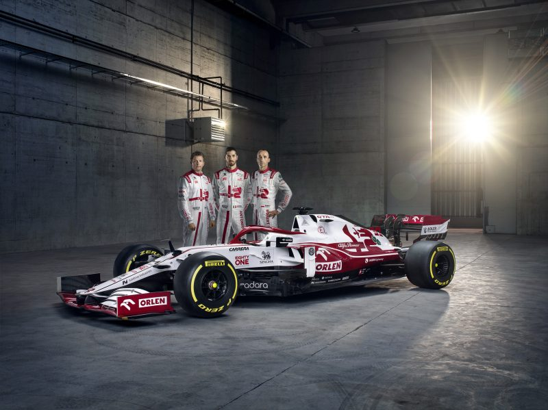 Formula 1: svelata l'Alfa Romeo Racing ORLEN  C41