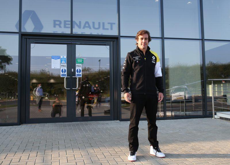 Fernando Alonso ha iniziato il recupero