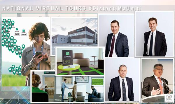 Arval Premium Center: #DistantiMaUniti
