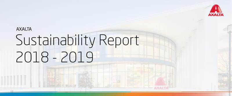 Axalta sempre più sostenibile: pubblicato il rapporto 2018-2019