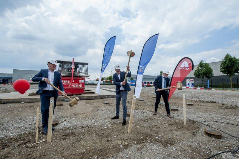 Axalta inizia la realizzazione di un nuovo impianto refinish in Olanda