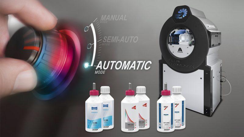 Miscelazione colori completamente automatizzata con Daisy Wheel 3.0 di Axalta