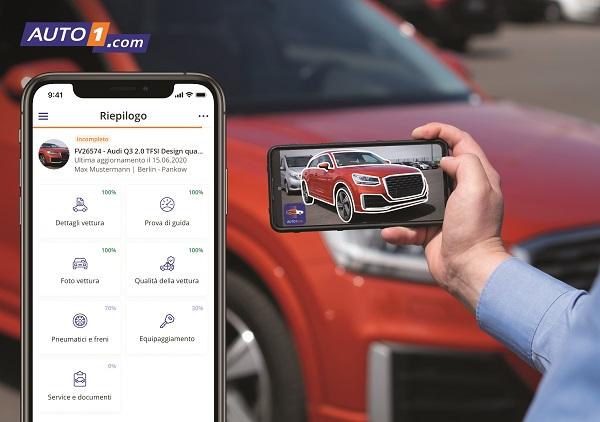 Accettazione e remarketing dell' usato: nuova app per velocizzare i processi