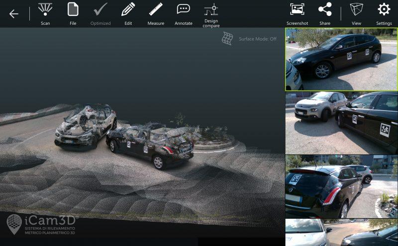 iCam3D, il dispositivo che ricostruire in 3d i sinistri stradali