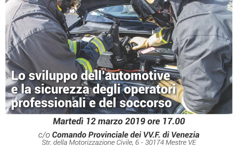 Convegno TEXA: lo sviluppo dell'Automotive e la sicurezza degli operatori professionali e del soccorso