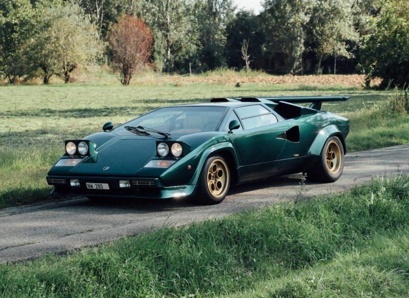 I 50 anni della Lamborghini Countach a Milano AutoClassica