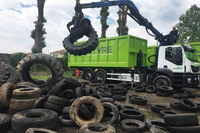 In 7 anni recuperati da EcoTyre oltre 276 milioni di kg di pneumatici