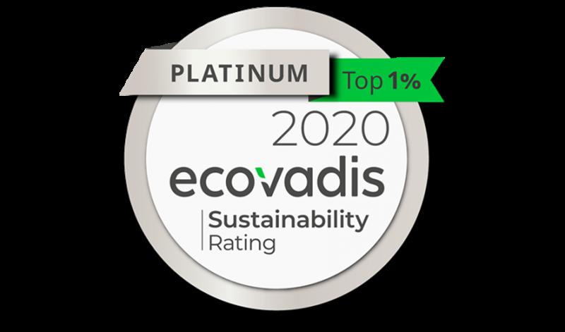 La Corporate Social Responsibility di Arval ottiene il livello platinum di Ecovadis nel 2020