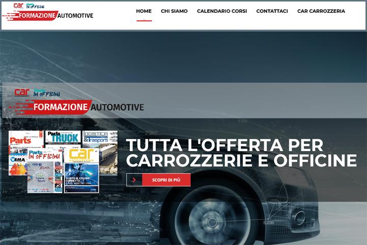 Formazione Automotive: il sito è online
