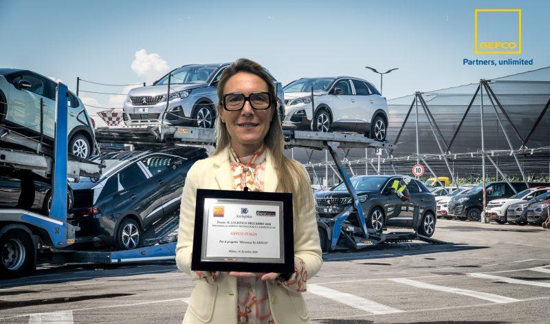 """GEFCO Italia riceve il premio """"Il Logistico dell'Anno"""" per il servizio MOVEECAR"""