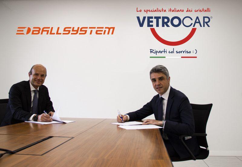 VetroCar e Ballsystem siglano partnership