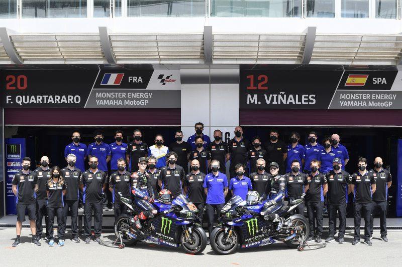 Axalta e Yamaha Factory Racing MotoGP di nuovo partner per la stagione 2021