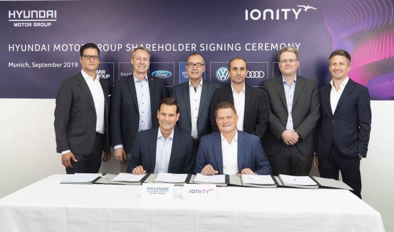 Reti ricarica: anche Hyundai investe in IONITY