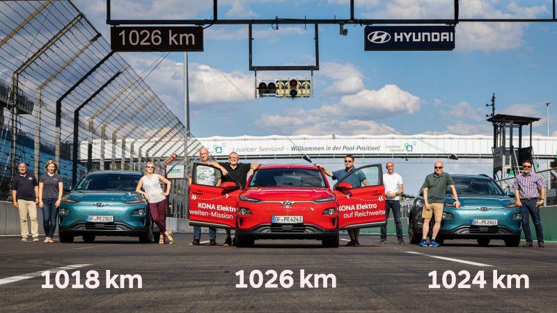 Record di autonomia per un'auto elettrica