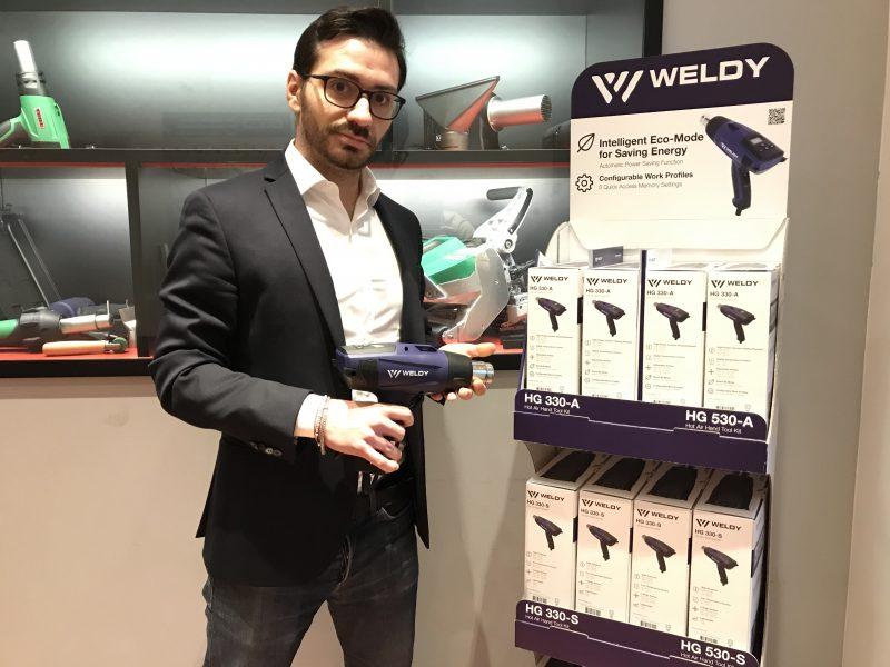 LEISTER presenta nuove soluzioni Weldy: arriva la gamma di riscaldatori HG