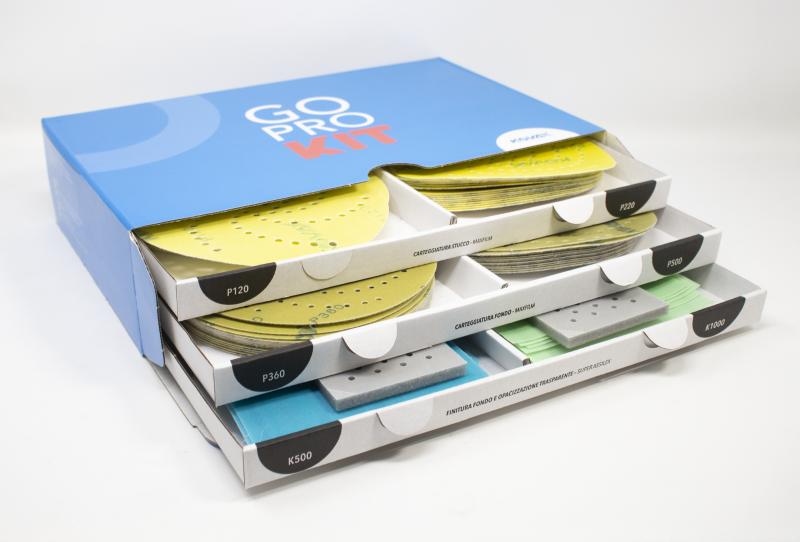 Gelson e Kovax presentano GoPro kit con i nuovi dischi Maxfilm multiforo!