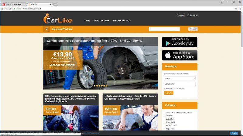 iCarlike: un servizio di vendita per i carrozzieri