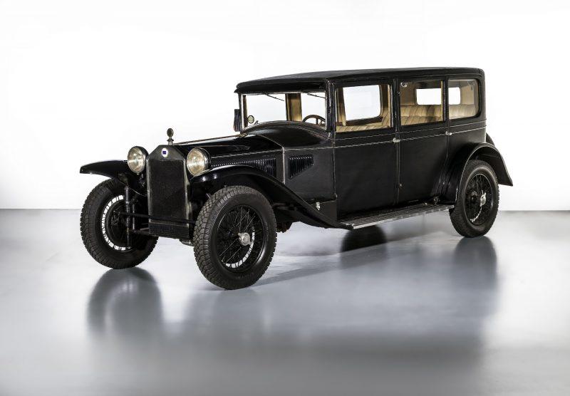I 100 anni della Lancia Lambda al MAUTO