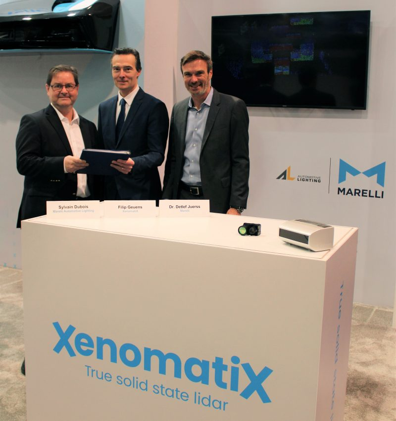 Guida autonoma: Marelli e XenomatiX stipulano accordo di sviluppo congiunto LiDAR
