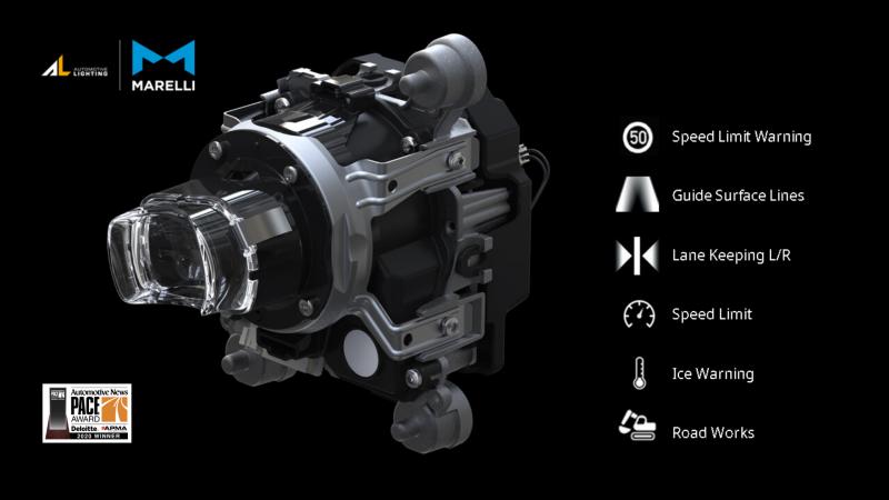 """MARELLI si aggiudica il """"PACE Award 2020"""" di Automotive News con il modulo h-Digi"""