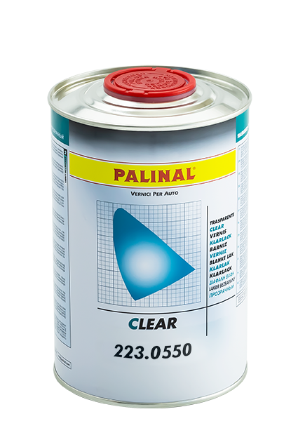 Palinal: nuovo trasparente 223.0550 UHS Superfast Clear 2:1
