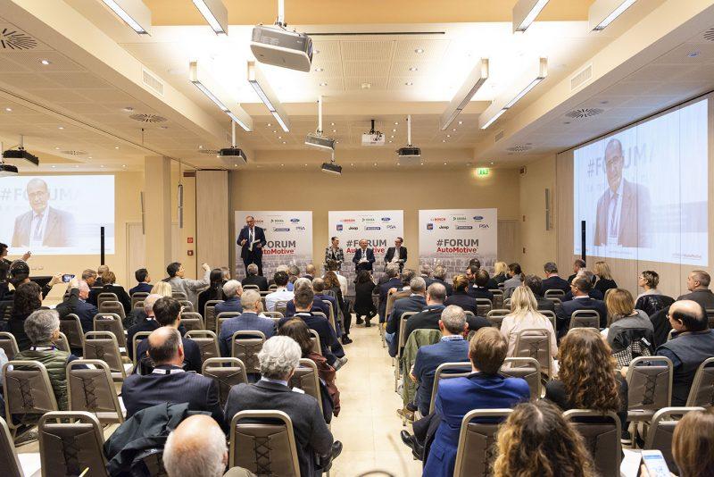 #FORUMAutoMotive: premi Dekra a Roberto Sgalla e Michele Crisci