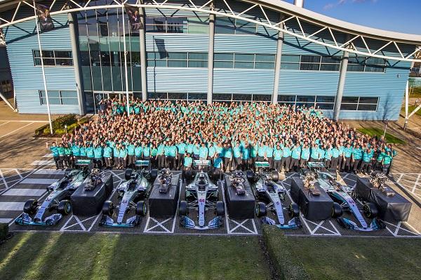 Spies Hecker e Mercedes-AMG Petronas, un'altra stagione vincente in F1