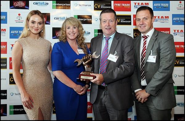 Irish Auto Trade Awards: Spies Hecker è il Marchio di Vernici dell'Anno 2018