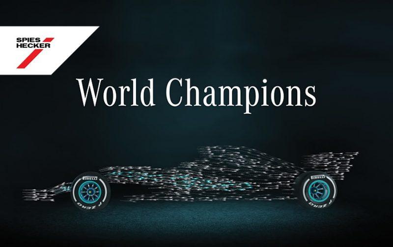 F1: Spies Hecker si congratula con Mercedes-AMG Petronas Motorsport