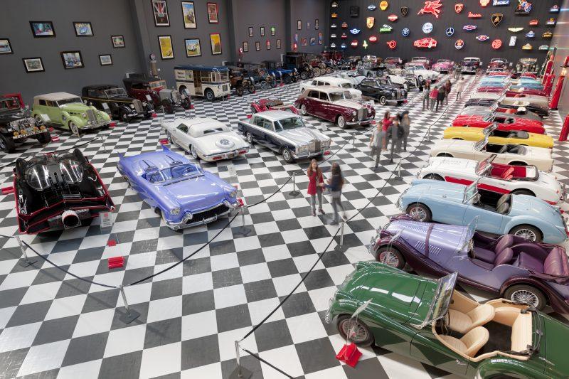 Il KEY Museum si affida a Standox per il restauro dei veicoli esposti