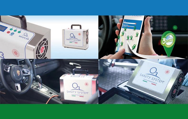 Sanificazione abitacolo: certificata l'efficacia dei dispositivi ad ozono Sanity System contro il covid