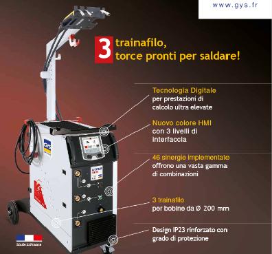 Saldatura: GYS presenta ad Automechanika AUTOPULSE 320-T3 e GYSPOT INVERTER BP.LG