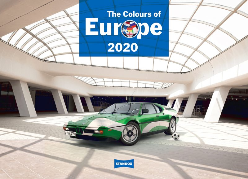 The Colours of Europe – il calendario Standox 2020