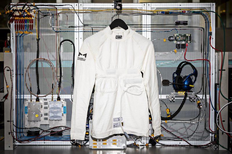MARELLI e OMP Racing presentano VISM, la maglia biometrica che misura i parametri vitali dei piloti MR