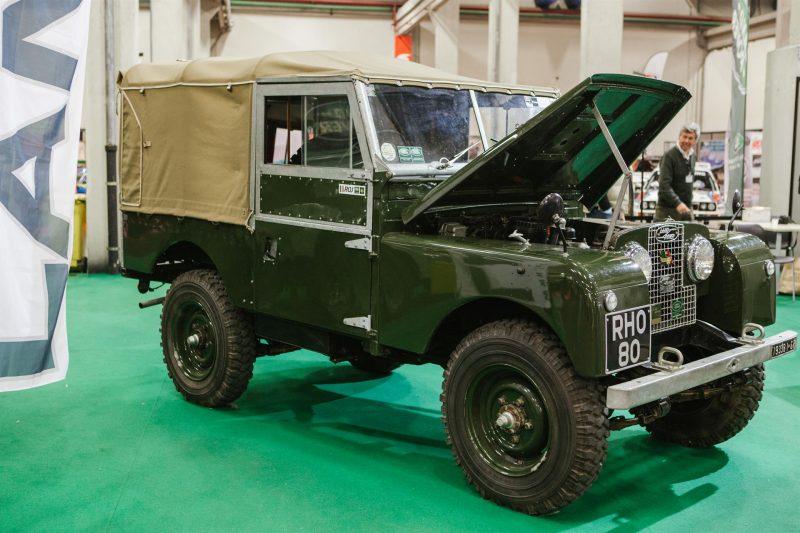 La Land Rover celebra i suoi primi 70 anni ad Automotoretrò