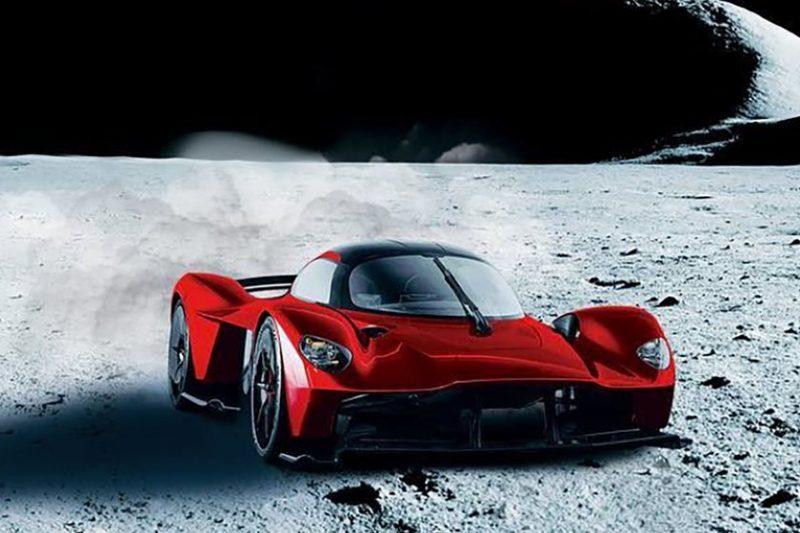 Aston Martin verniciata con polvere lunare