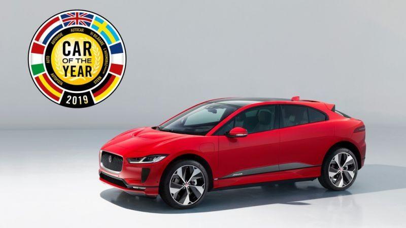 Auto dell'anno 2019: vince l' elettrica Jaguar I-Pace