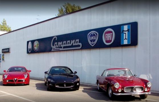 Furto di ricambi Maserati in storica carrozzeria modenese