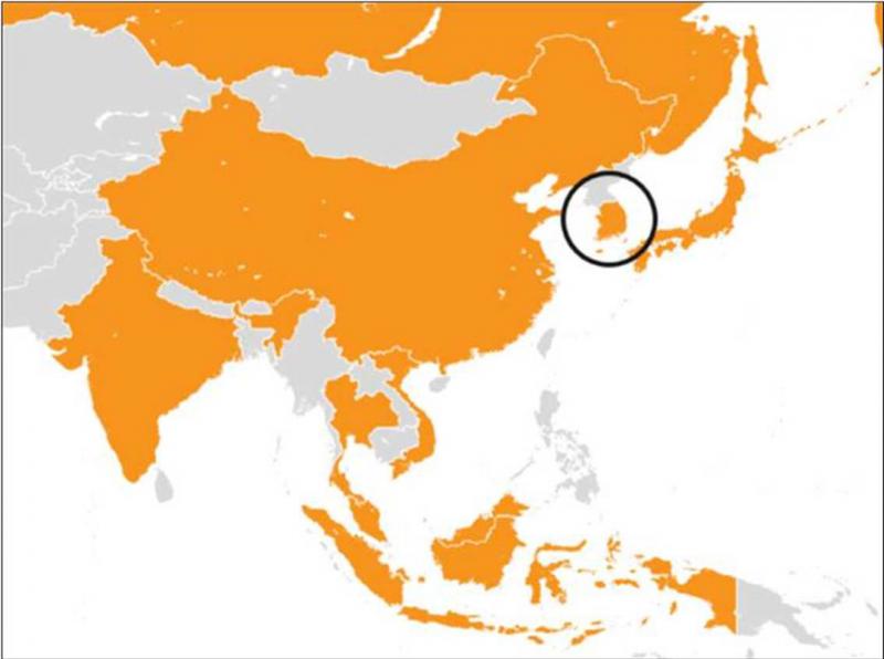 GiPA: avvio del programma PAD in Corea del Sud