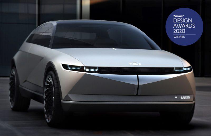 La concept car 45 di Hyundai vince i Design Awards di Wallpaper
