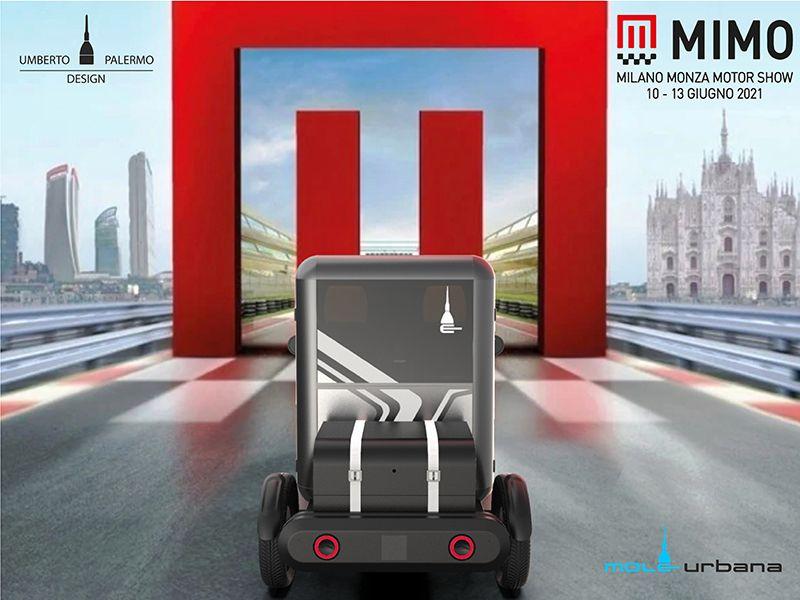 Veicoli elettrici: il quadriciclo Mole Urbana al MiMo Milano Monza Motor Show