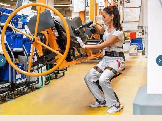I robot si indossano, e nell' industria automotive è già realtà